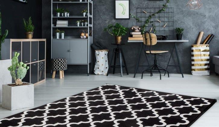 Stylowe dywany we wnętrzach