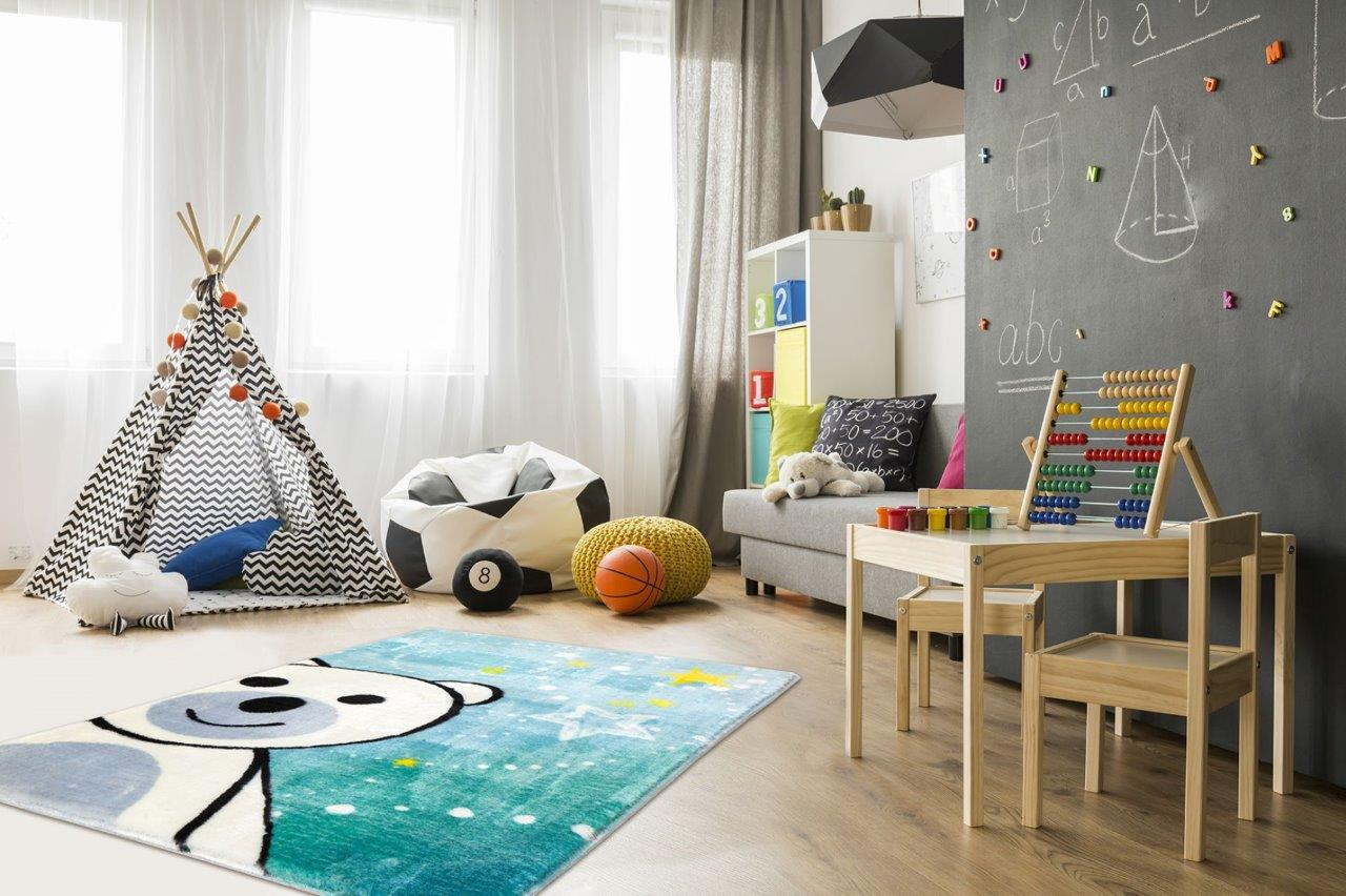 Dywany wybierane przez dzieci
